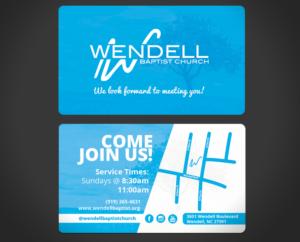121 Bold Playful Church Business Card Designs For A Church