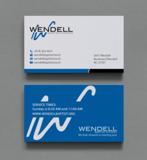 119 bold business card designs church business card design project business card design by chandrayaaneative for wendell baptist church design 10996212 colourmoves