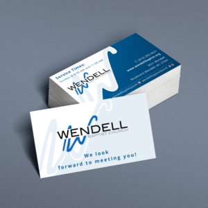 Business Card Design By Kreative Fingers For Wendell Baptist Church 10982249