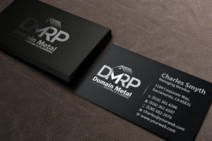 logo design by mediaproductionart for this project design 11038221 - Roofing Business Cards