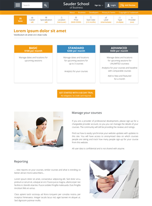 Web Design by bllablla - continued... Web Design for Professional Develo...
