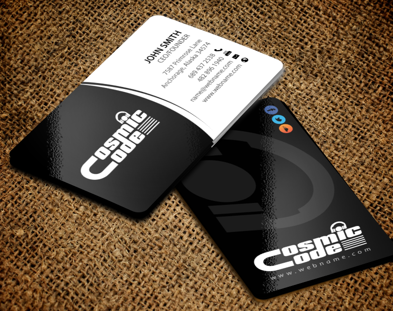 Modern professional business business card design for a company by business card design by chandrayaaneative for this project design 11004990 colourmoves Image collections