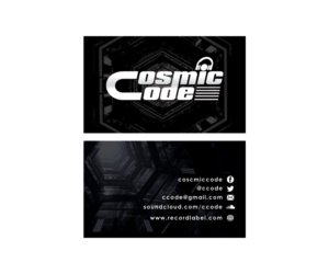 Music business card designs 60 music business cards to browse name card for a music artist producer dj and performer genre psy colourmoves