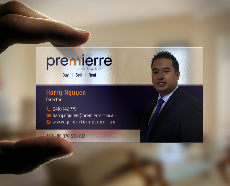 business card design by chandrayaancreative for this project design 11033900 - Modern Real Estate Business Cards
