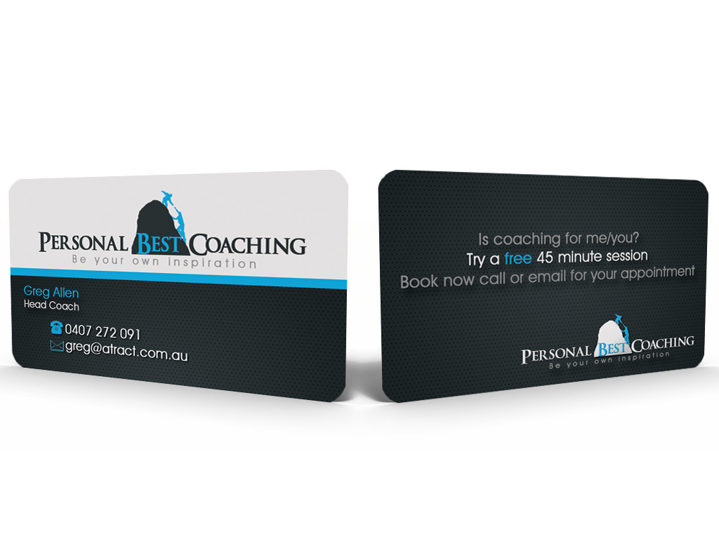 26 professional life coaching business card designs for a for Life coaching business cards