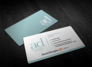 Business Card Design (Design #11148345) Submitted To Window Treatment  Specialists Need Business Card