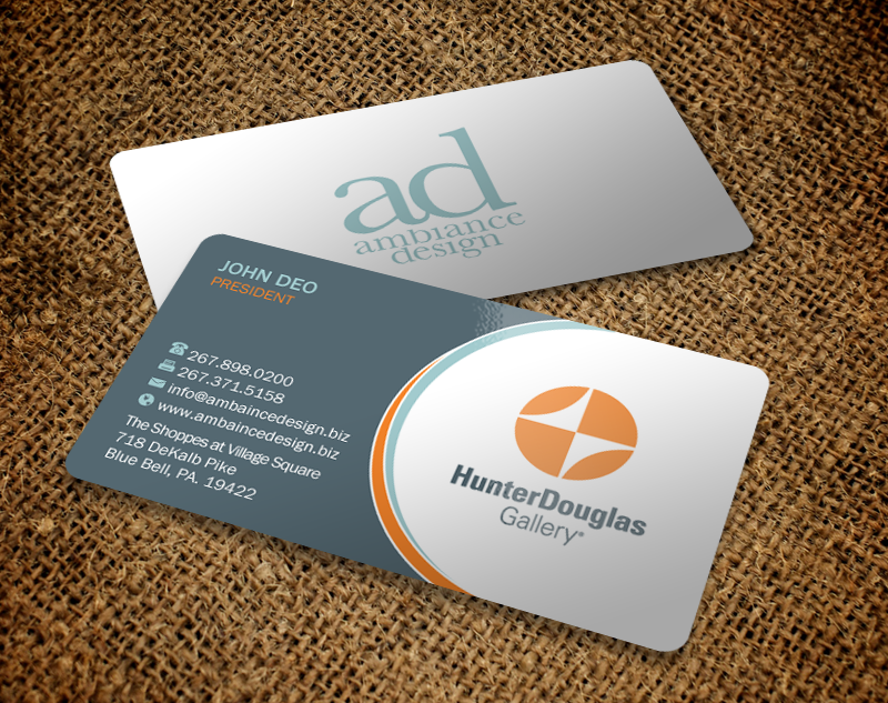 Serious professional home improvement business card design for business card design by brand aid for ambiance design design 11027913 colourmoves