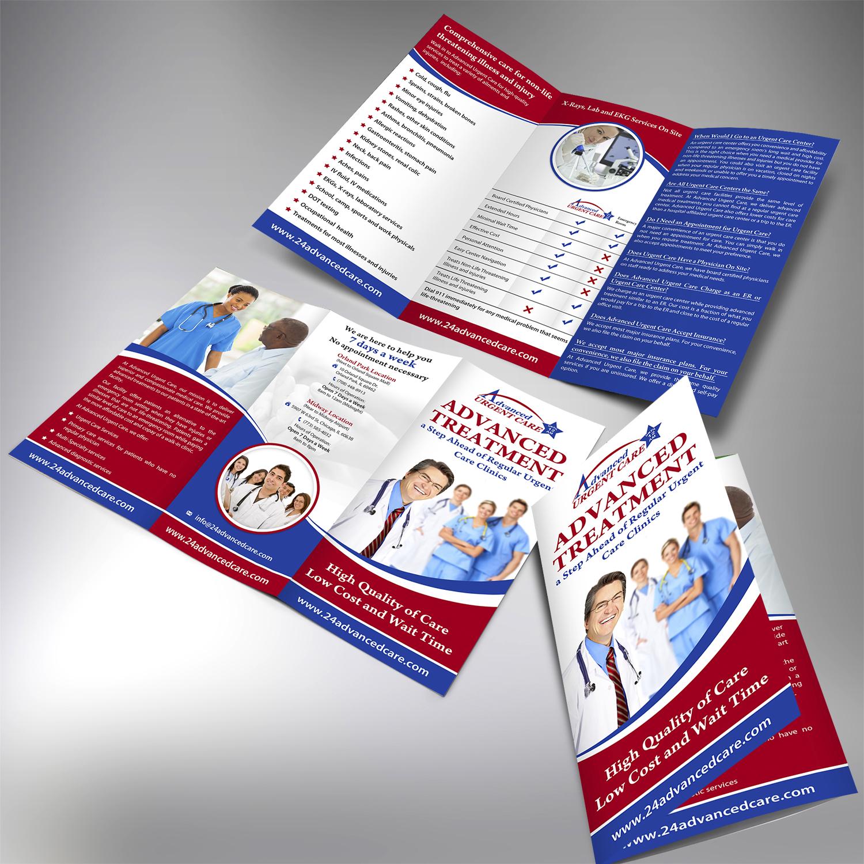 Elegant Professional Medical Flyer Design For Advanced Urgent Care By Aspiremedia Design 11056785