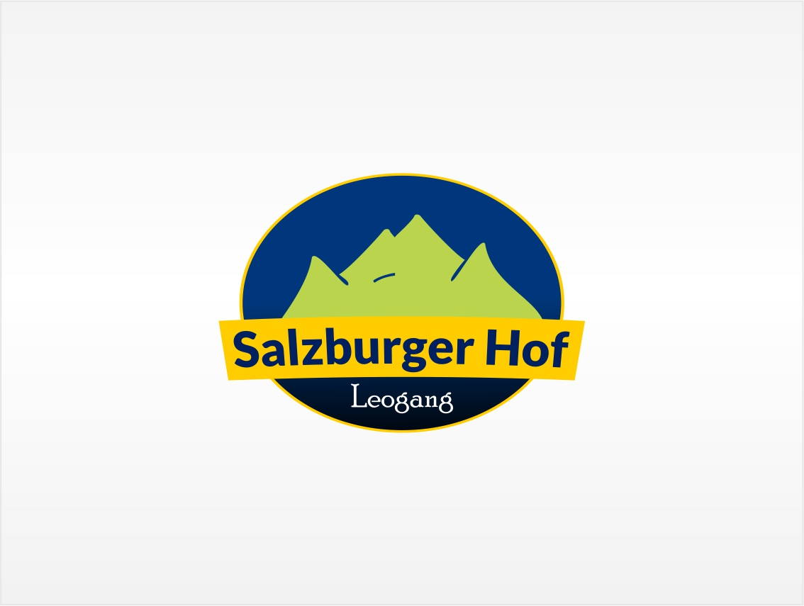 hotel logo design for salzburger hof leogang by taulant. Black Bedroom Furniture Sets. Home Design Ideas