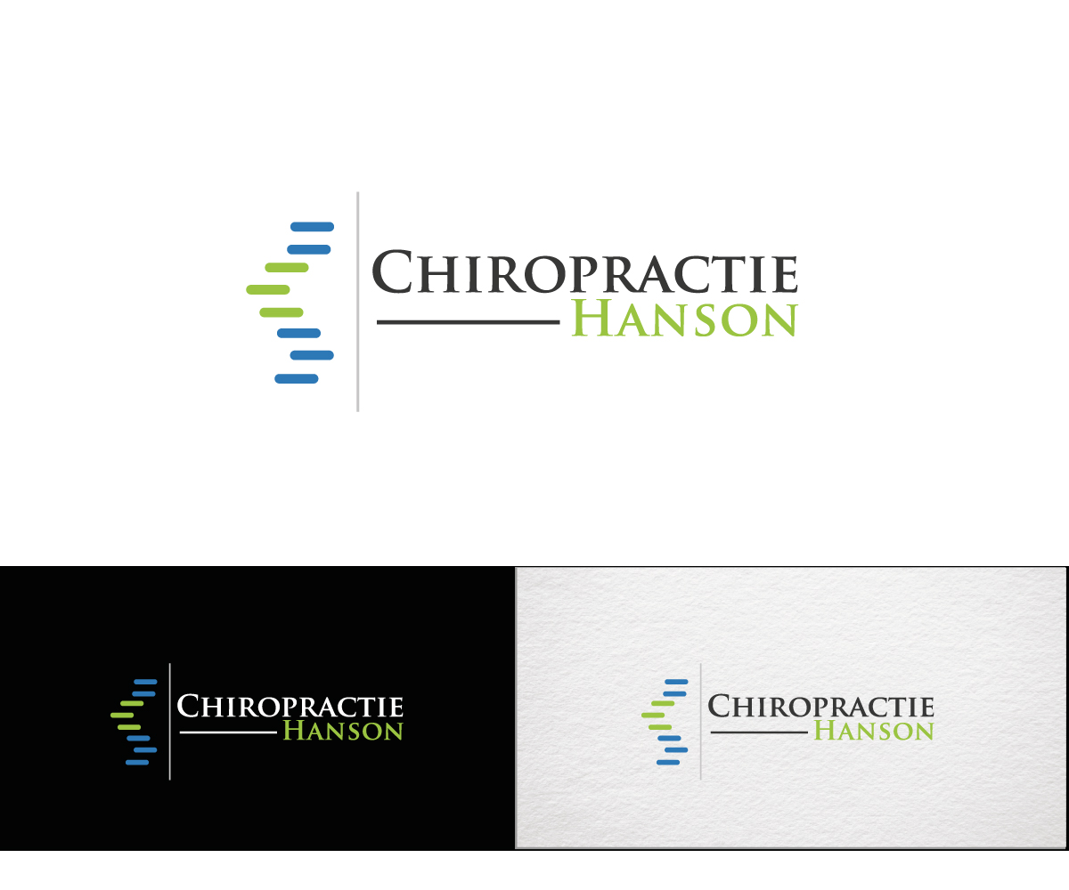 Bold Professional Office Logo Design For Chiropractie Hanson In Netherlands 11079052