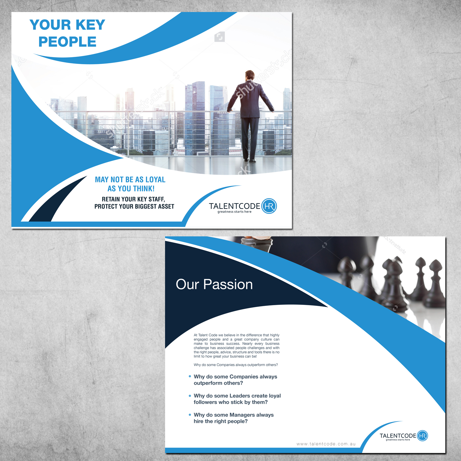 Professional, Upmarket, Consulting Word Template Design for ...