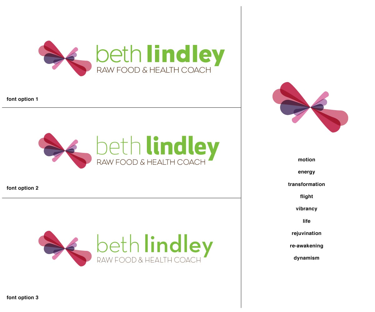 Elegante moderno health dise o de logo for beth lindley for Lindley trabajo