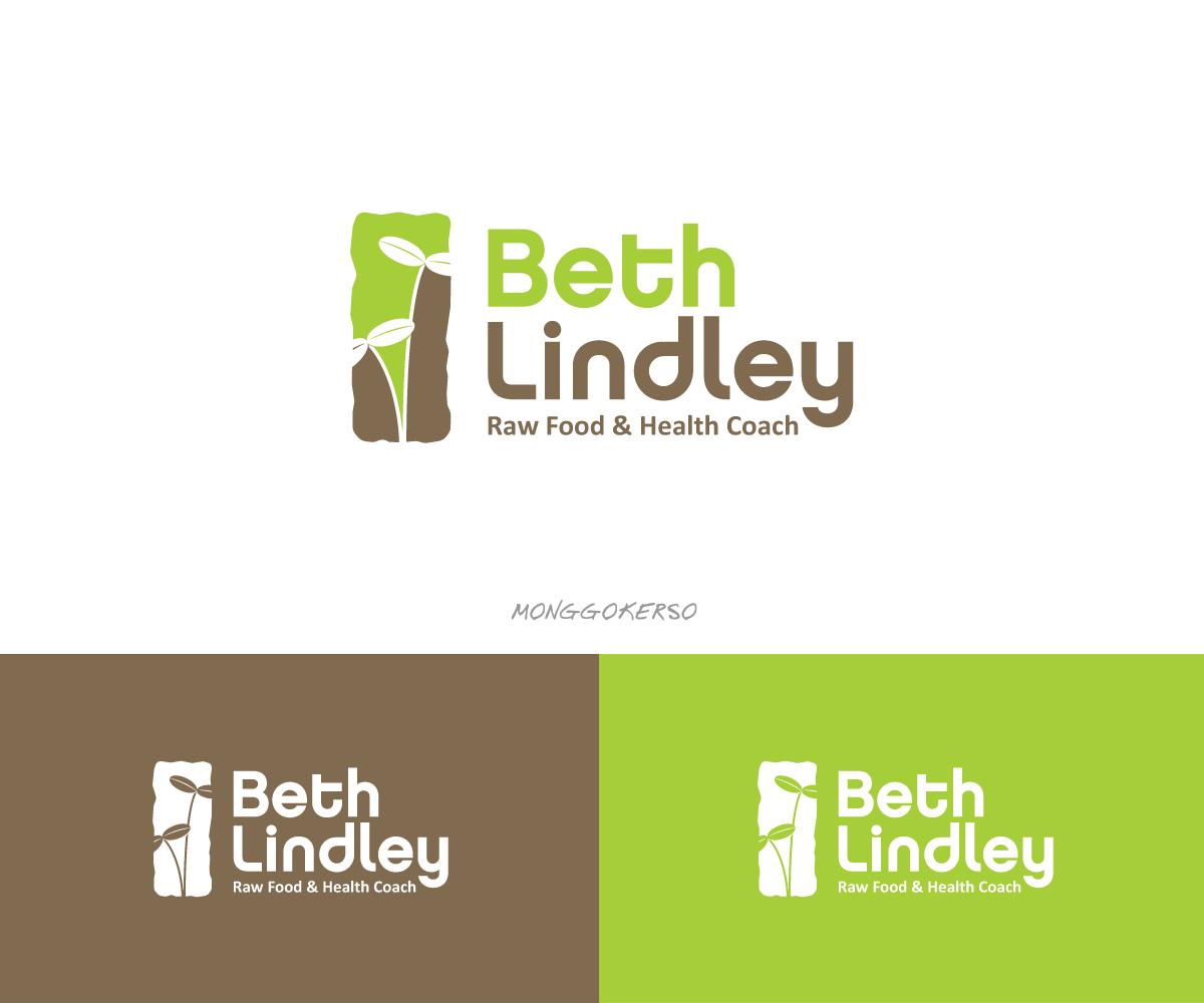 Elegant Modern Health Logo Design For Beth Lindley Raw Food