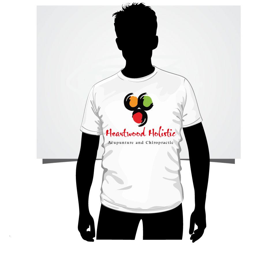 Elegant Modern Office Logo Design For Heartwood Holistic