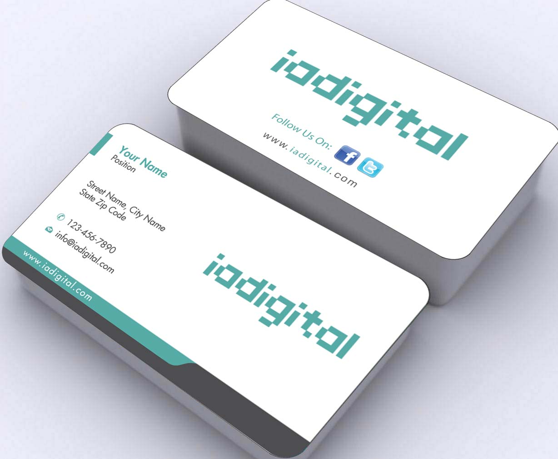 Modern, Upmarket Business Card Design for IADigital by Sbss   Design ...