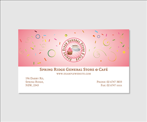 Convenience store business card design galleries for inspiration business card design for lynn horne by dxp reheart Gallery