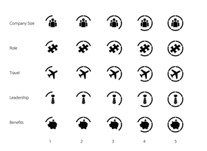 Icon Design by Synthesis - (25 Icons) Job Seeker Web Site
