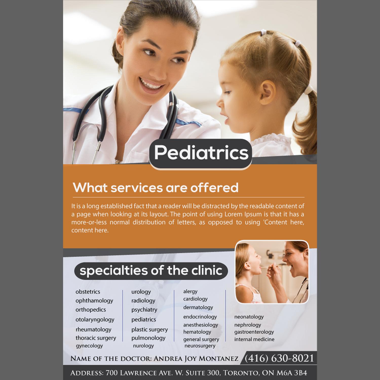 Pediatric clinic flyer dolapgnetband pediatric clinic flyer altavistaventures Image collections