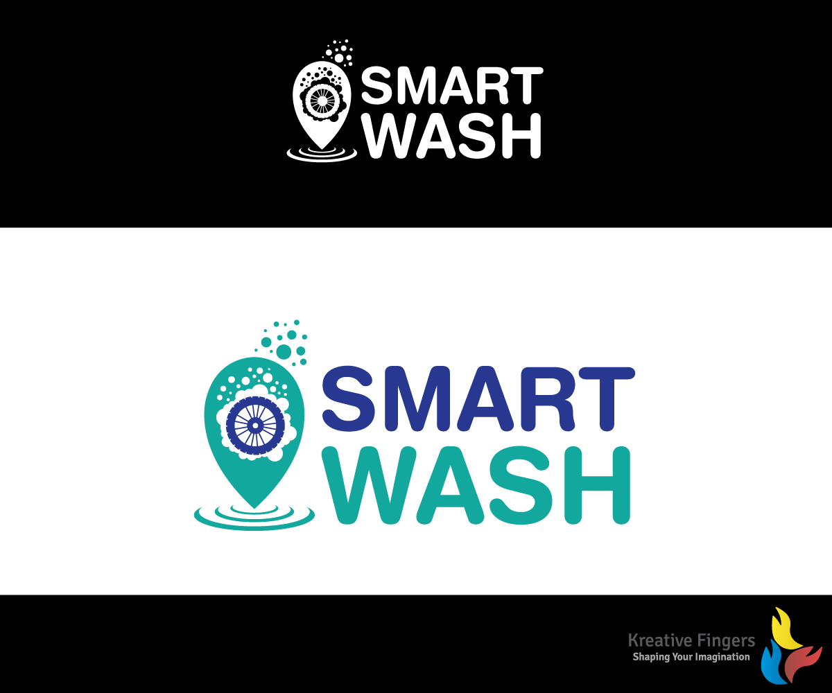 51 Bold Playful Logo Designs For Smart Wash A Business In