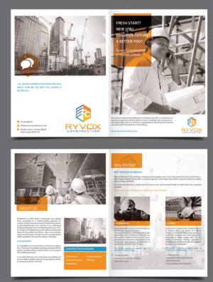 Building brochure design galleries for inspiration for Construction brochure design pdf