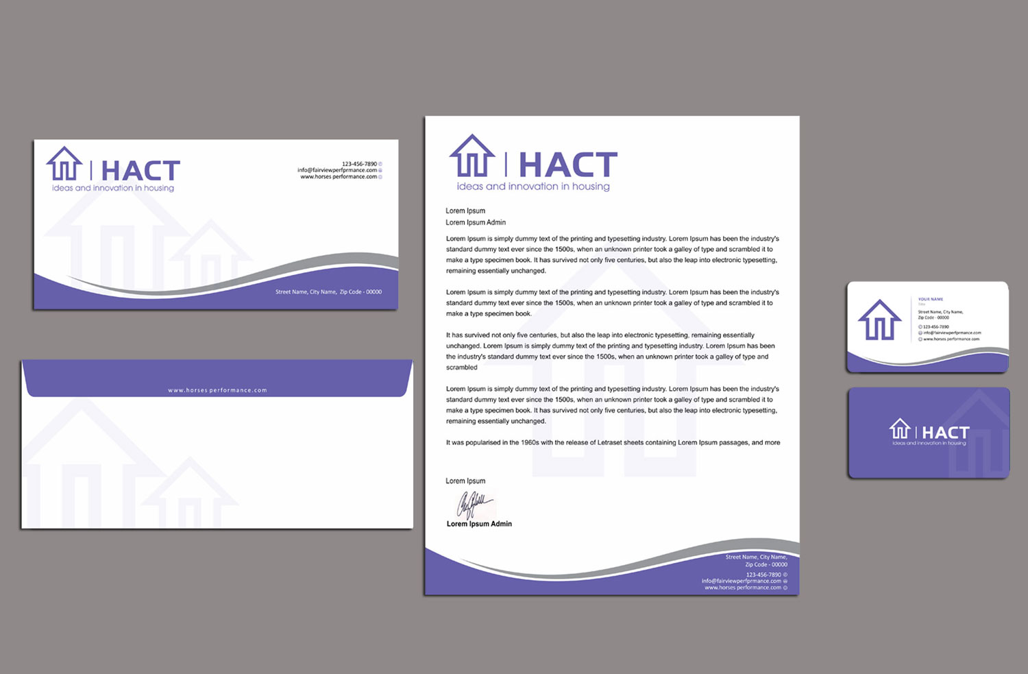 Bold, Modern, Business Stationery Design for a Company by ...