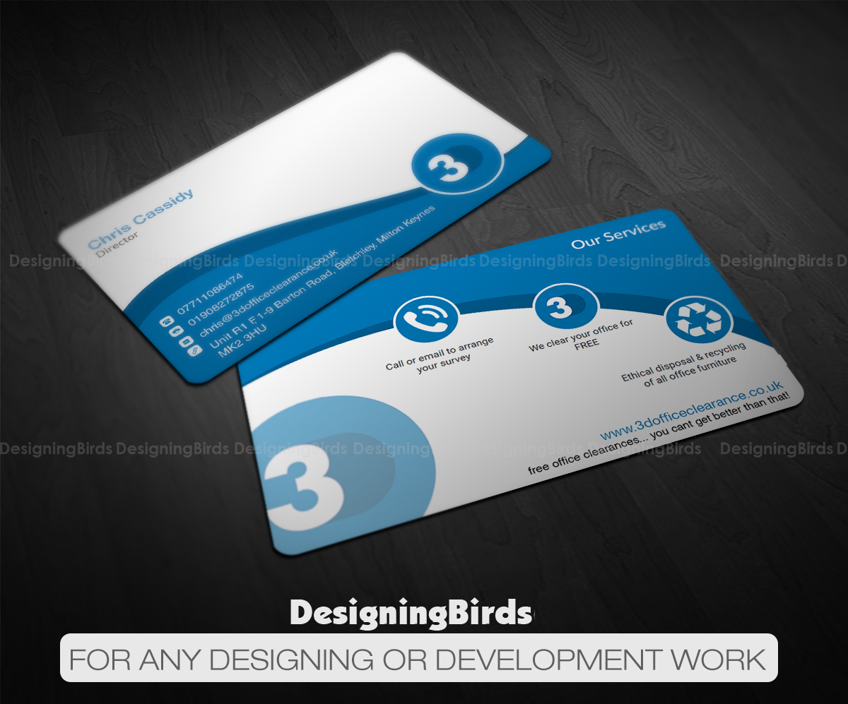 162 modern business card designs office furniture business card business card design by designing birds for this project design 11167832 reheart Choice Image