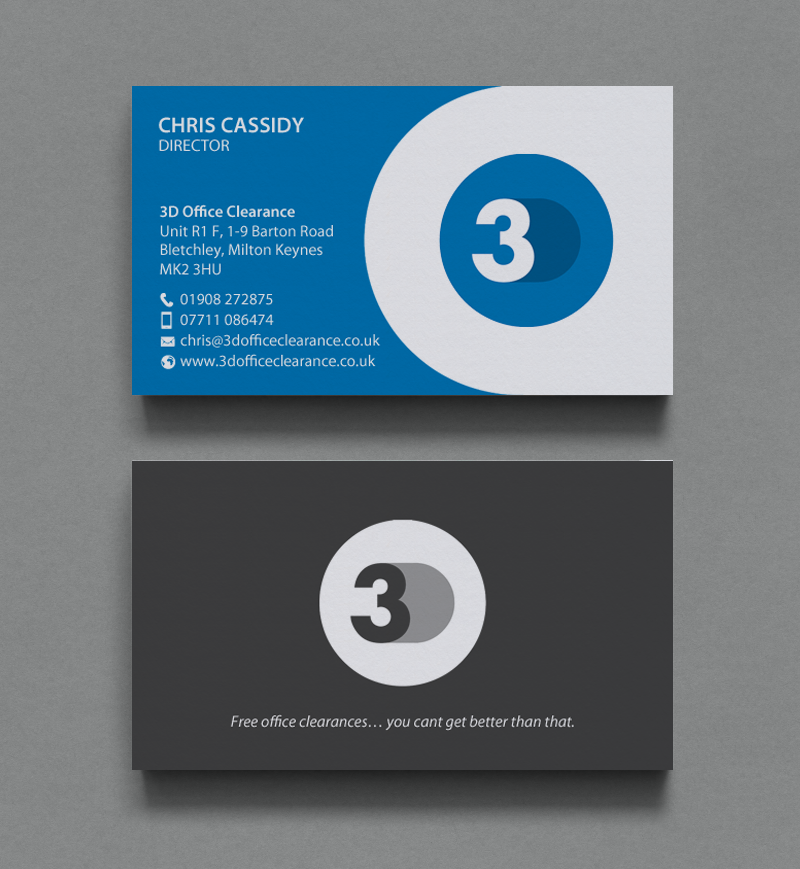 Modern Professional Office Furniture Business Card Design For A Simple Graphic Design Office Furniture