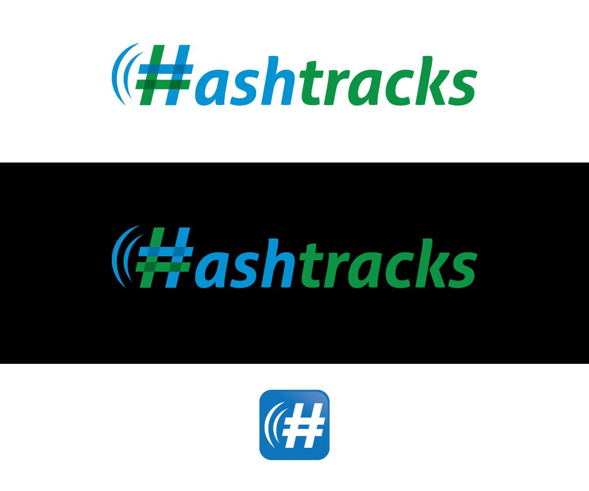158 Elegant Playful Internet Logo Designs For Hashtracks A