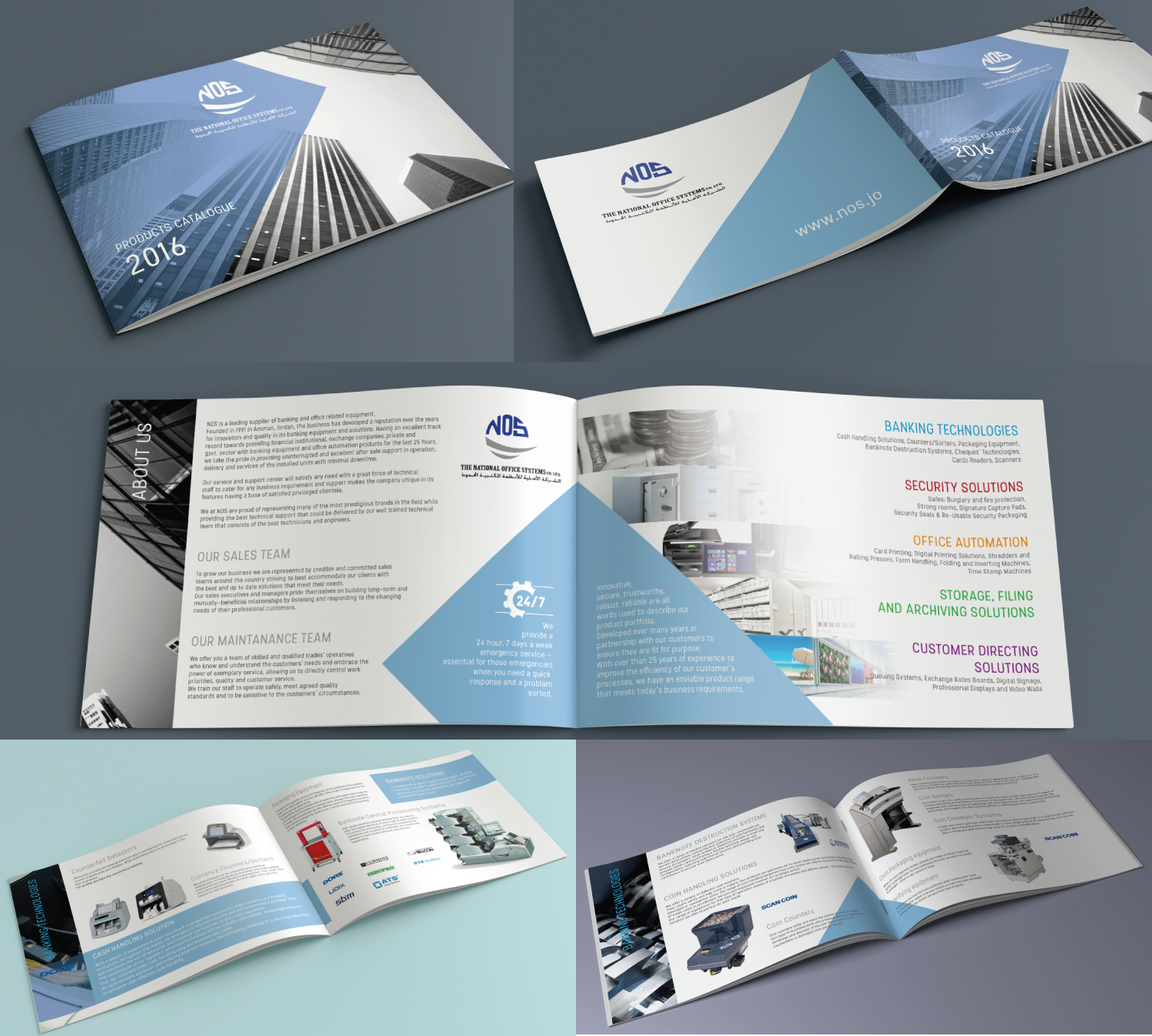 Elegant professional office furniture catalogue design for catalogue design by coo coo design for national office systems design 11238397 reheart Images