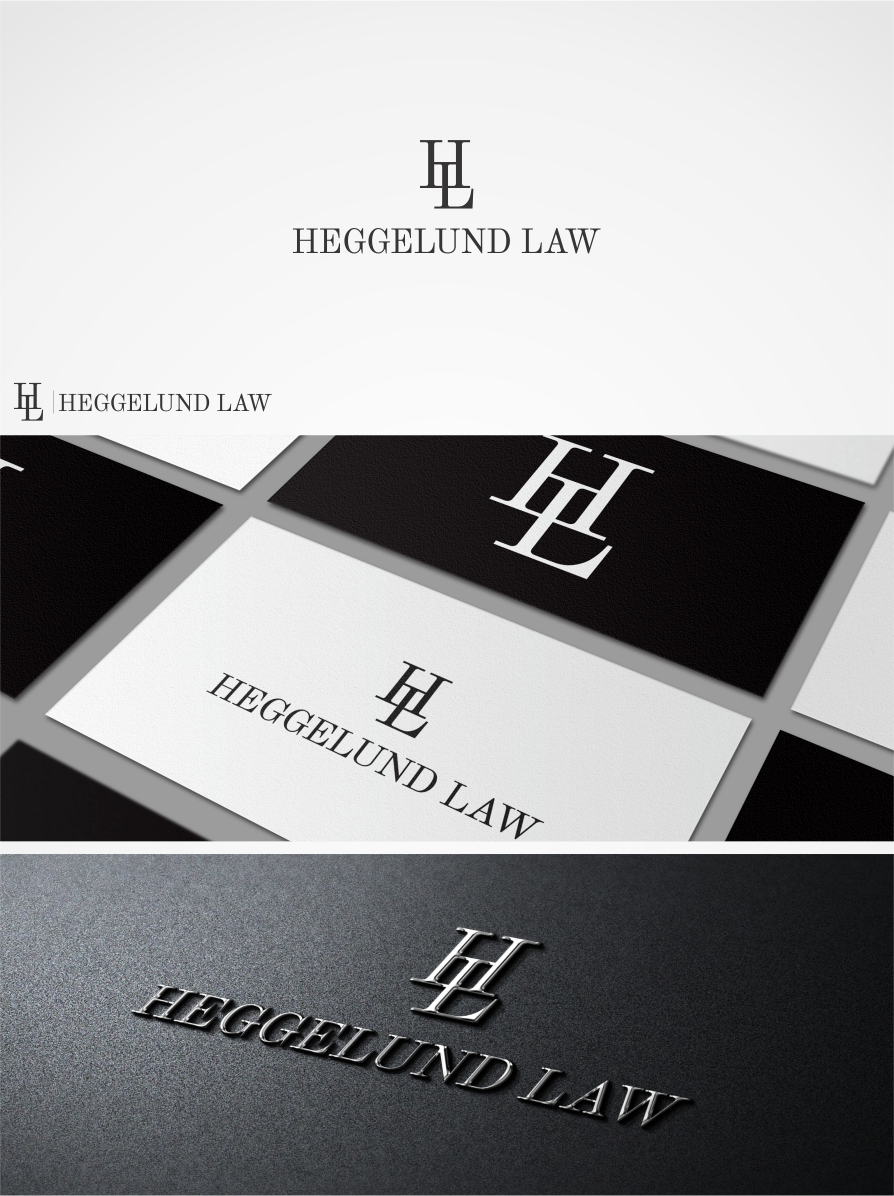 Greyscale in design 20 inspirational black and white designs heggelund law logo design magicingreecefo Gallery