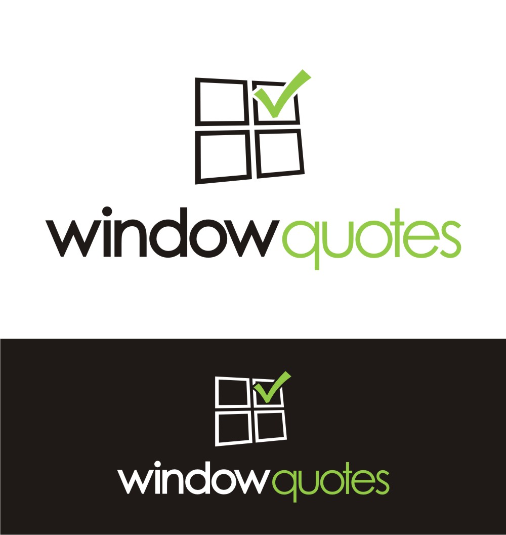 Logo Design job – Window Quotes Business – Winning design by In2Graphics