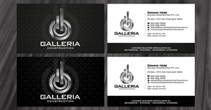 Business Card Design job – Business Card Design - Construction Company – Winning design by diRtY.EMM
