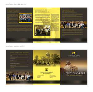 Brochure Design by katrina - Illinois Chamber 2011 Year End Brochure Design ...
