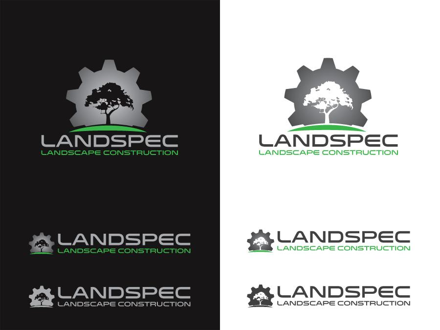 65 bold modern business logo designs for landspec for Landscape design logo