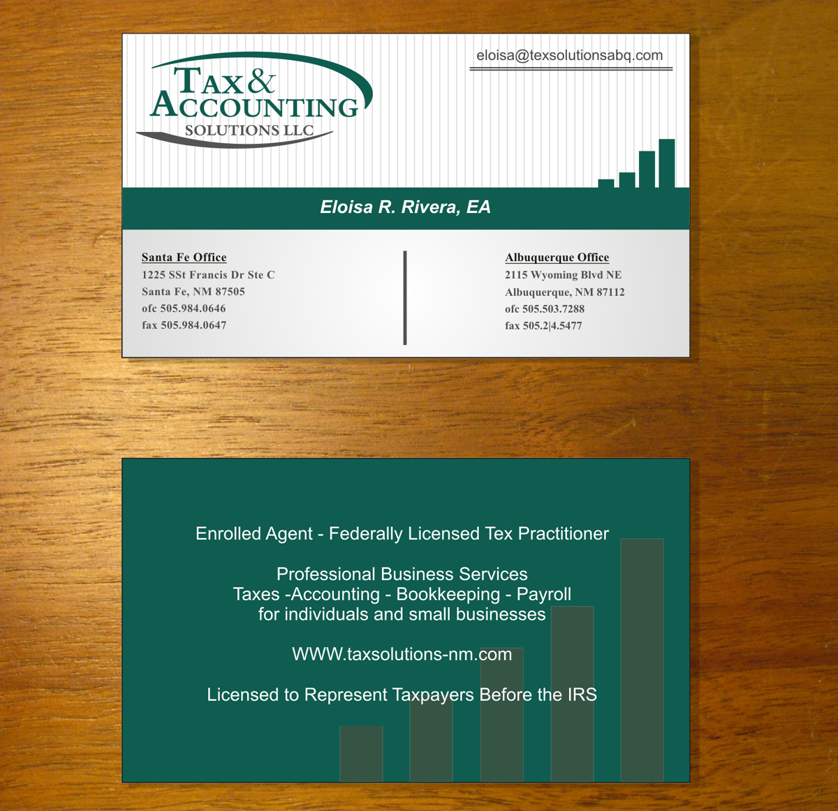 Modern elegant accounting business card design for a company by business card design by evoltix for this project design 2321261 colourmoves