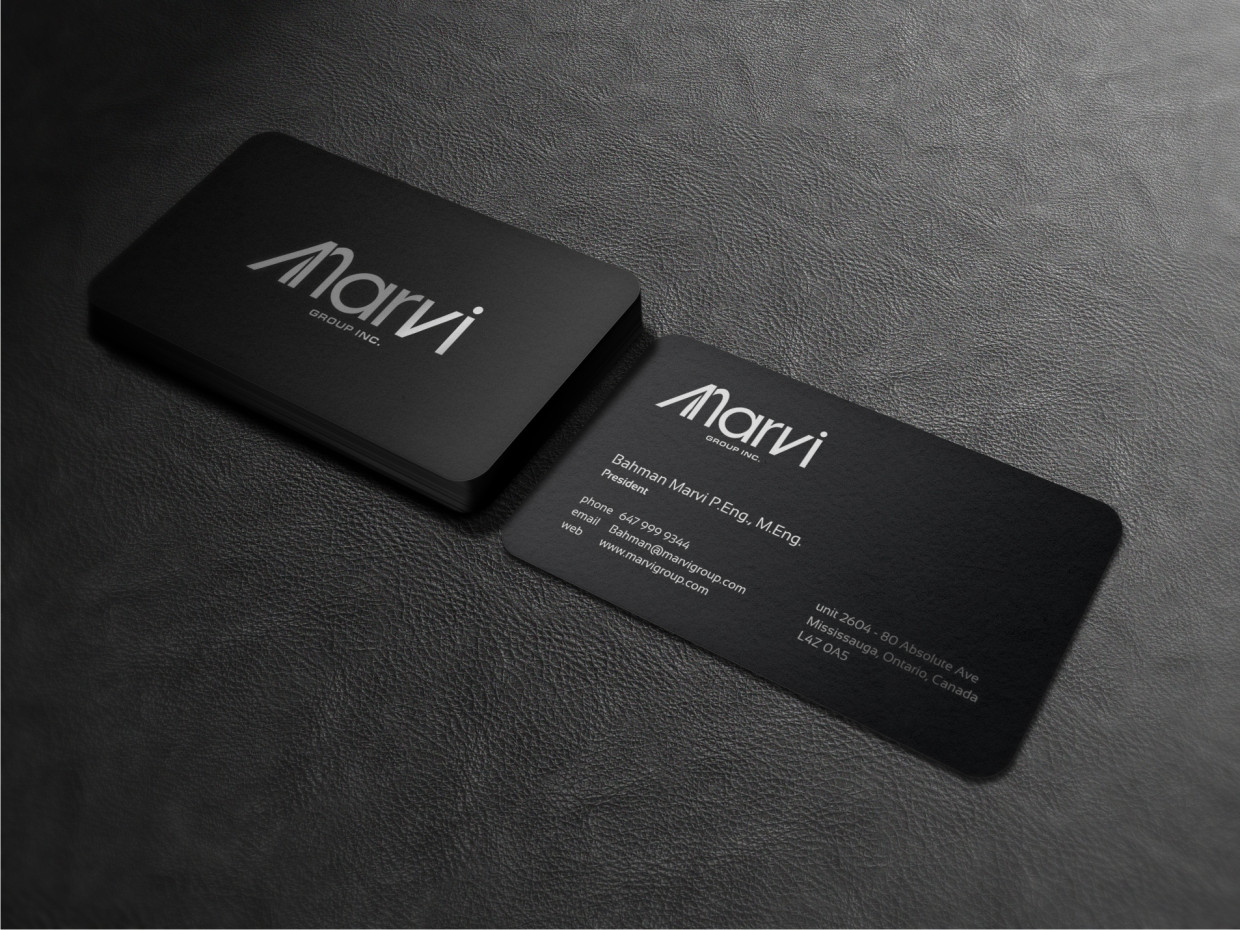 Greyscale in design 20 inspirational black and white designs marvi business card magicingreecefo Gallery