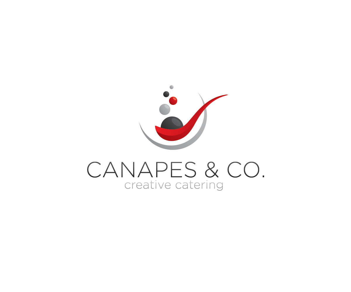 Modern upmarket catering logo design for a company by for Design company