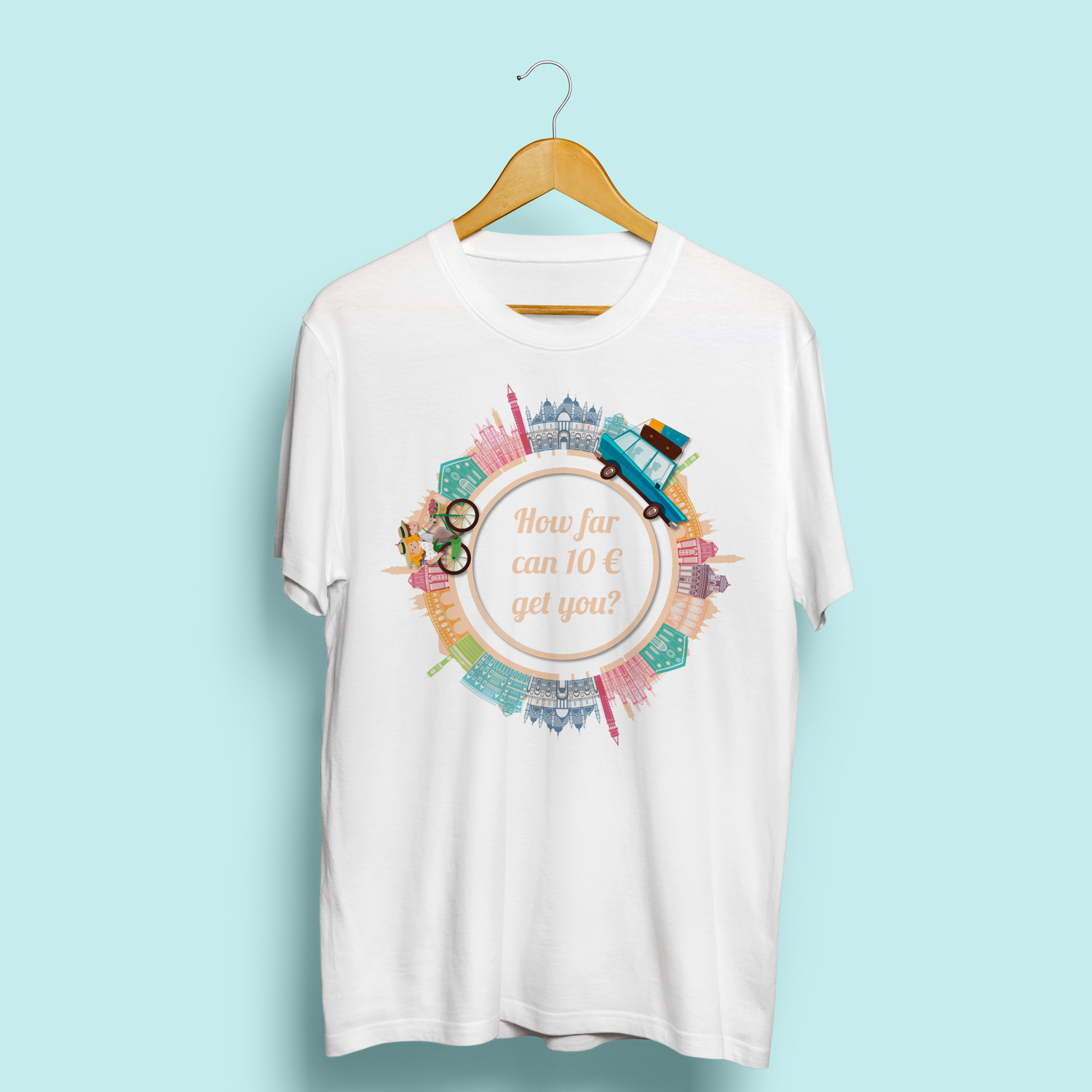 Playful Modern T Shirt Design For Paolo Pinzuti By Ibirds