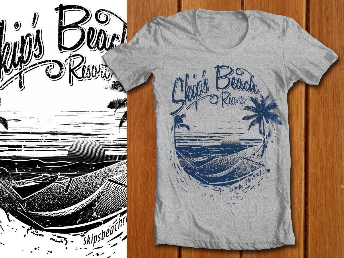 T shirt design by denuj design 498378 for Hawaiian design t shirts
