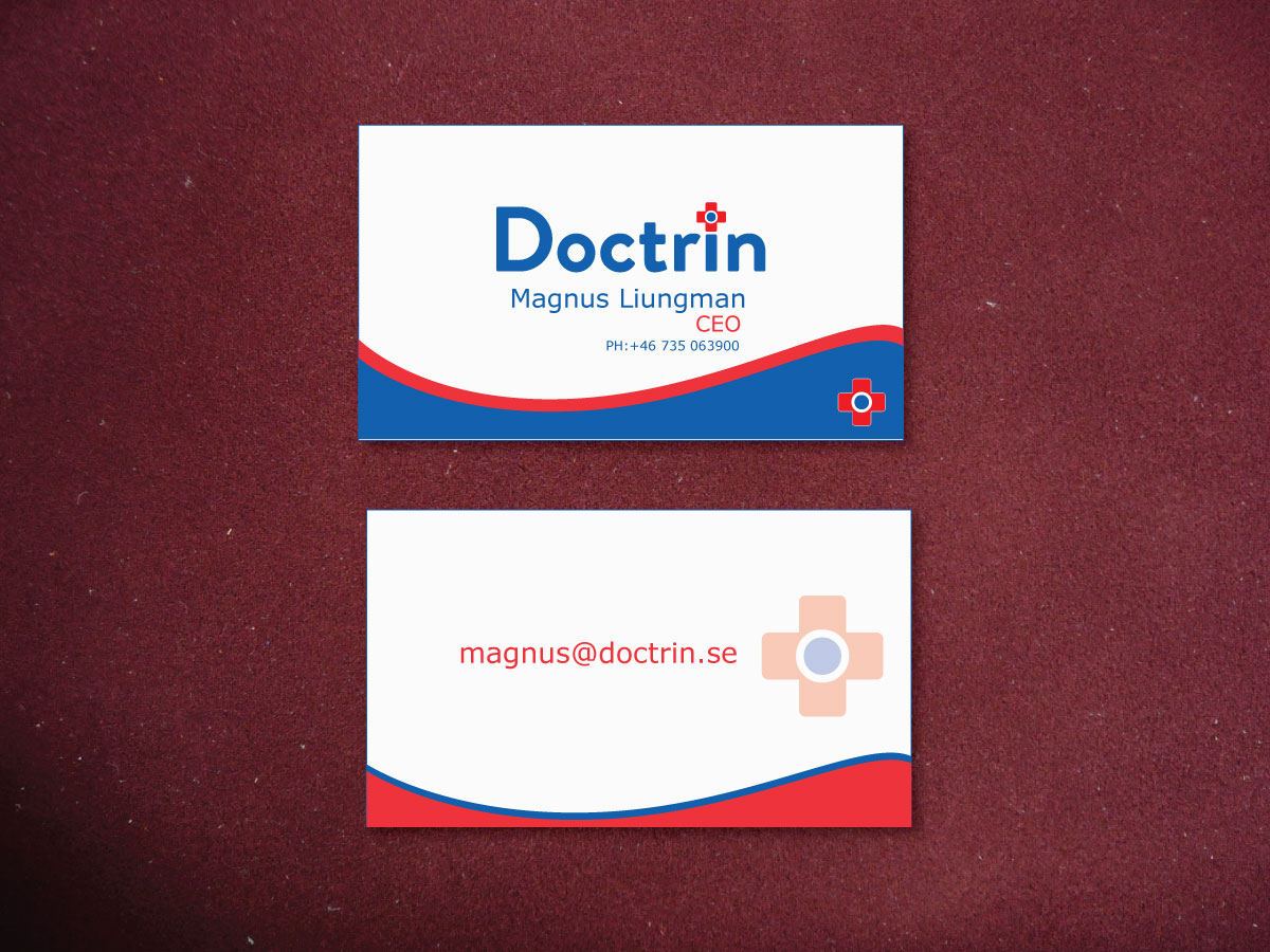 Modern, Professional, Healthcare Business Card Design for a Company ...