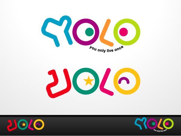 spielerisch modern graphic design logodesign f252r yolo