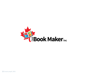 Logo Design by GreenLamp - The Book Maker Inc Needs a Logo Design