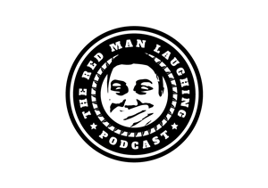 Logo Design by Skwagor - Red Man Laughing Podcast Logo