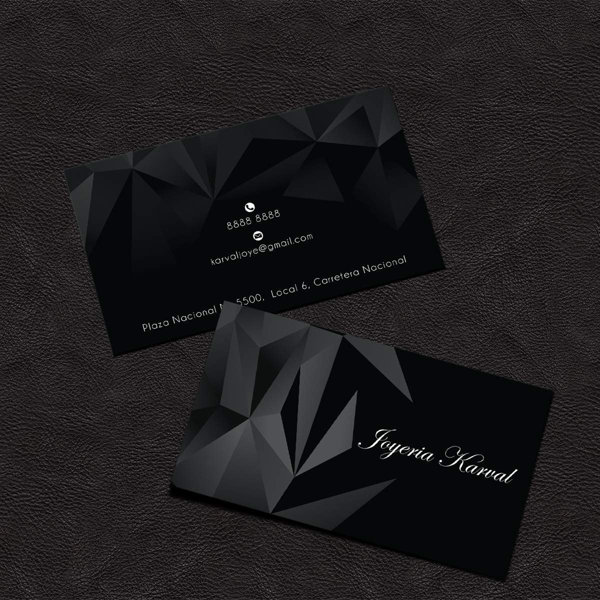 Elegant Jewelry Business Cards Images - Card Design And Card Template