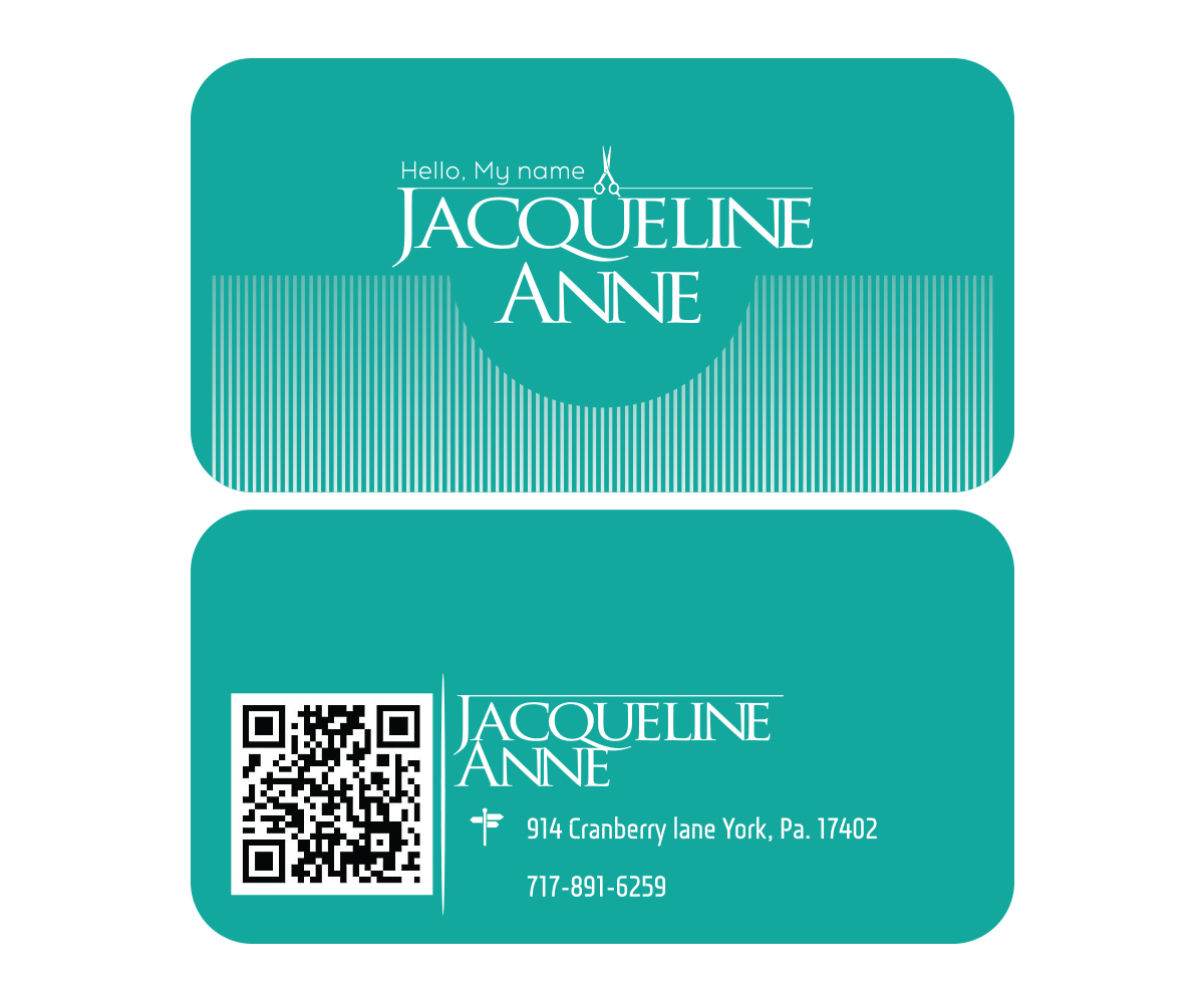 Business Card Design By UF For This Project