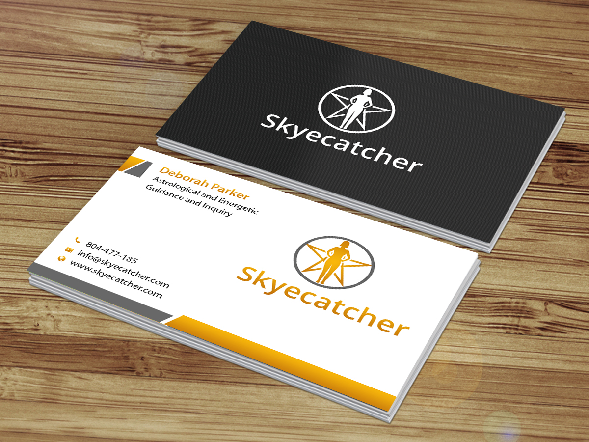 Business Card Design By Creations Box 2017 For Spiritual Journeyer Astrologer Reiki Master