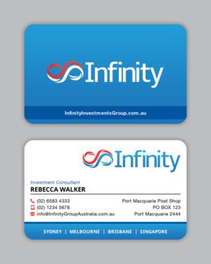 Design De Carte Visite Par MIND Pour Infinity Group Australia