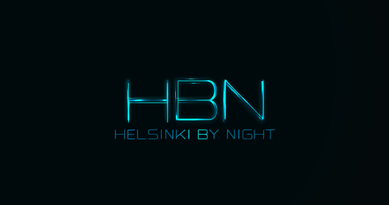 Finland Helsinki By Night Logo by jaime.sp for an Event Company
