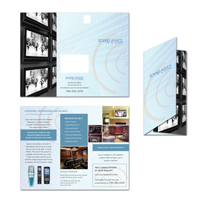 Distributor Flyer Design For A Startup 23653
