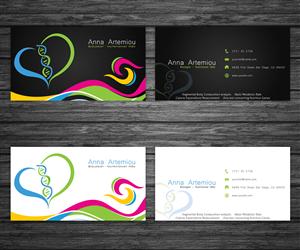 Nutrition Business Cards 211 Custom Nutrition Business Card Designs